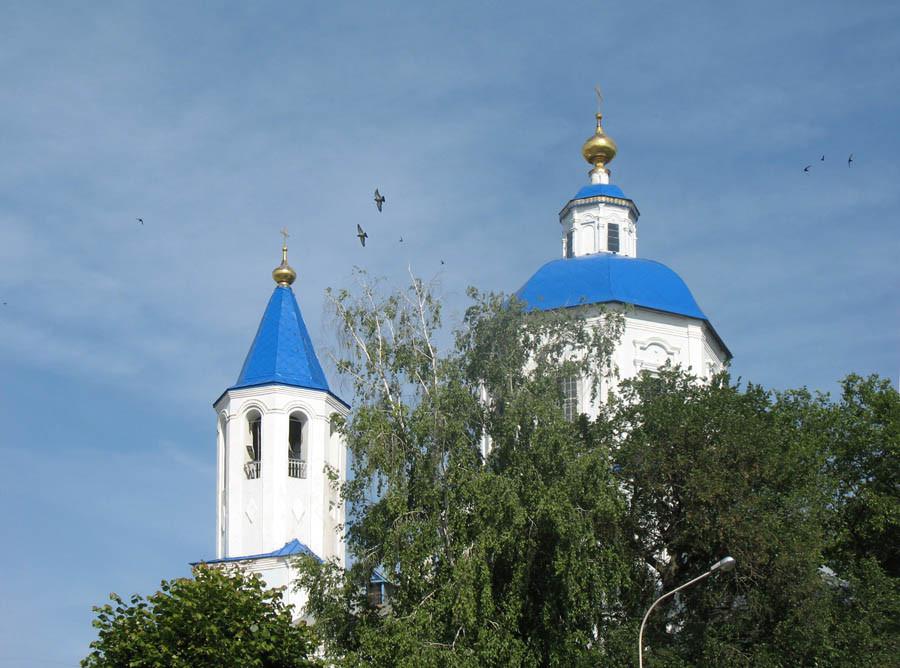 Покровский храм в Тамбове. Фото 7 июня 2013 г.