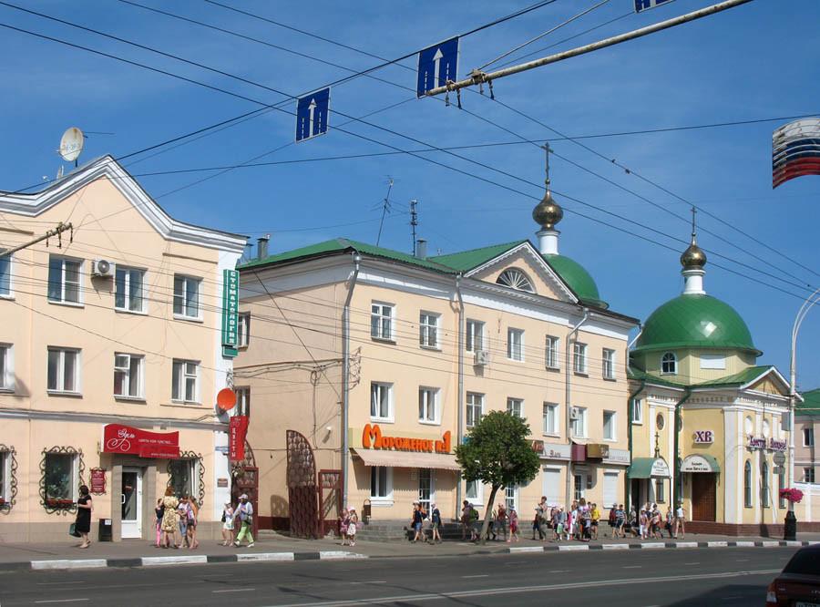 Надстроенные дома городской усадьбы купца М. Малина