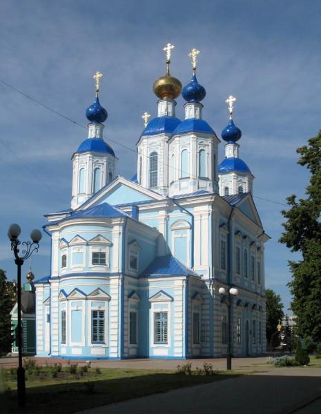 Казанский собор Казанского мужского монастыря в Тамбове
