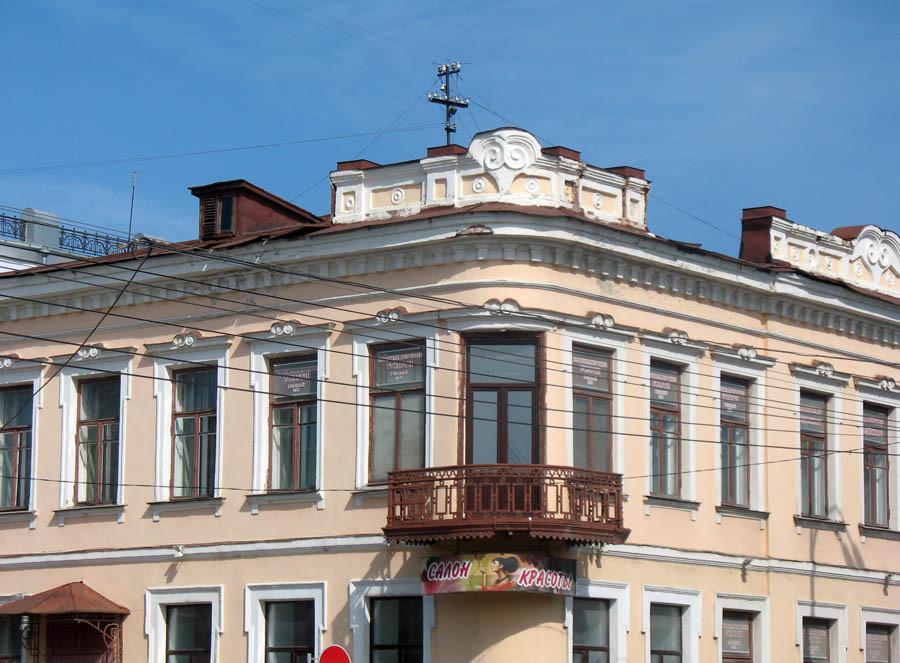 Архитектурные детали дома А. Толмачёва