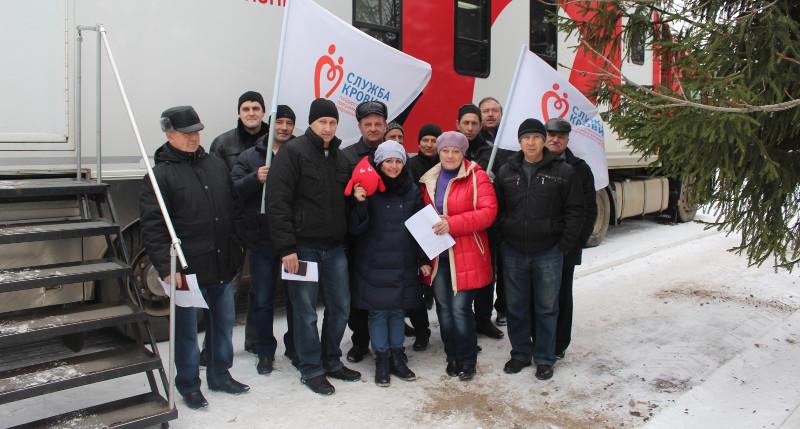 Жители Первомайского района стали участниками донорской акции