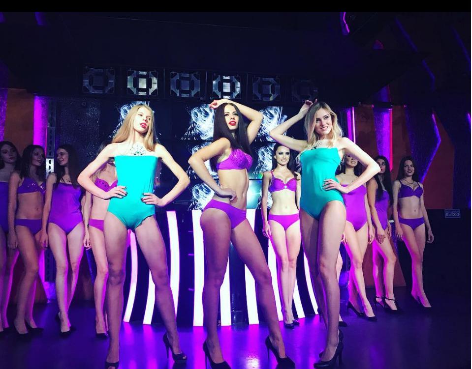 Мисс ночных клубов эротическое шоу пышки